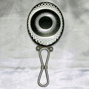 Hand mirror Art deco/Jugendstil - Art Deco