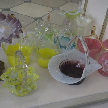 Harrach Baskets at the Passau Glass Museum in Germany - Art Glass