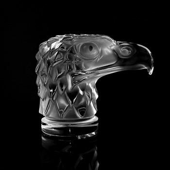 LALIQUE - FRANCE     TETE D' AIGLE #2 - Art Glass