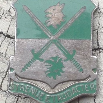 741st Tank Battalion DUI - Military and Wartime