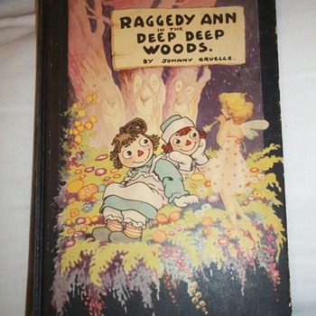 Raggedy Ann and Andy books by Johnny Gruelle from the 1920's  - Books