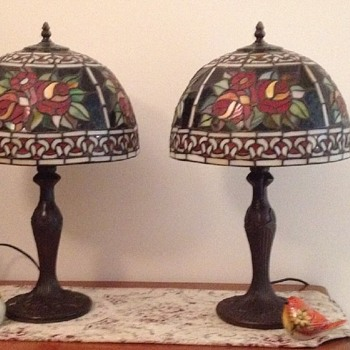 My Tiffany style lamps - Lamps