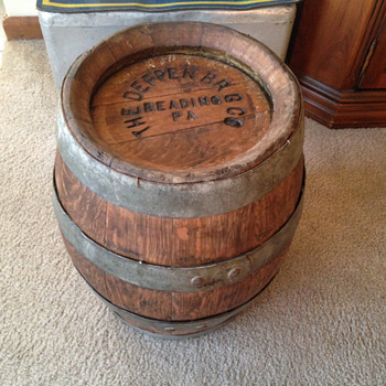 Deppen Brewing Company 1/4 Keg Beer Barrel - Breweriana
