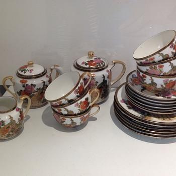 Chinese?Japanese?Oriental, satsuma tea set? - Pottery