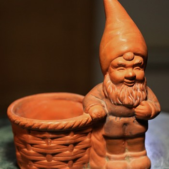 Small Gnome Planter - Pottery