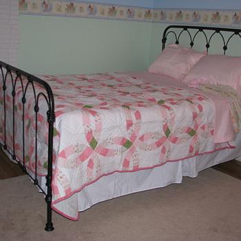 Antique Iron Bed - Furniture