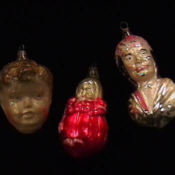 Early 1900's Christmas Ornaments - Christmas