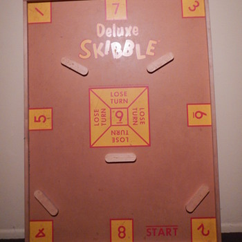 Deluxe Skibble Board-Looking for Instructions - Games
