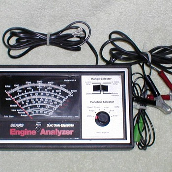 Sears Automotive Engine Analyzer