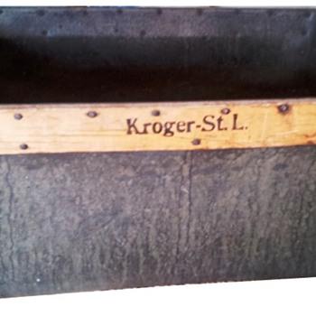 Vintage Kroger Box - Advertising