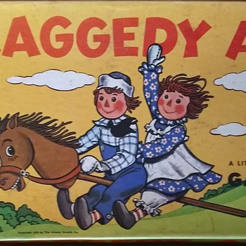 Raggedy Ann Game from MB!  - Games