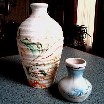 """Nemadji"" Pottery Vases / Circa 20th Century - Pottery"