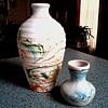 """Nemadji"" Pottery Vases / Circa 20th Century"