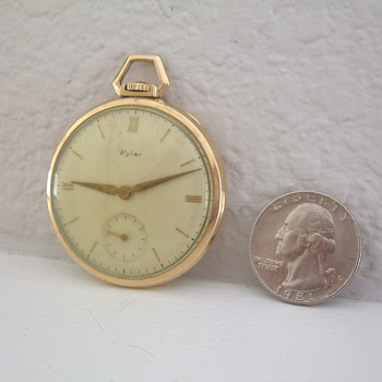 Wyler pocketwatch - Pocket Watches