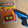 Plastic toy gun.