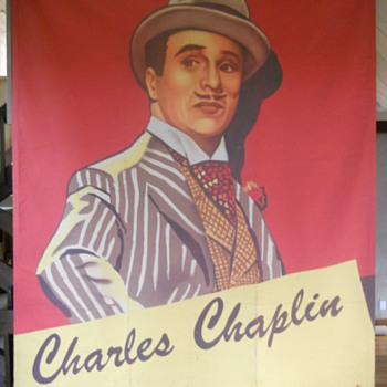 """""""Monsieur Verdoux"""" trompe l'oleil/ mural 9'x12' canvass - Posters and Prints"""