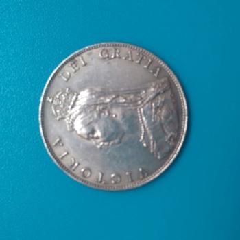 Victoria silver coin
