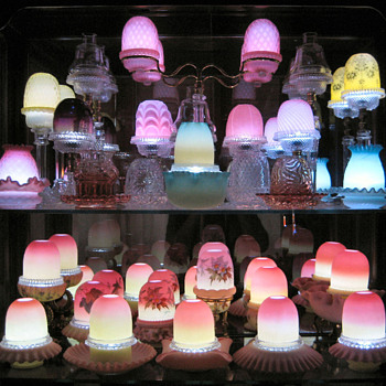 Lighting Fairy Lamps - Art Glass