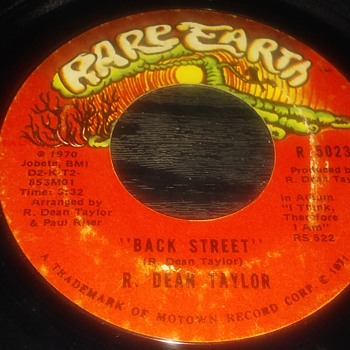 Rare Earth....On 45 RPM Vinyl Format - Records