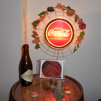 1965 Coca-Cola Lighted Sign - Complete - Coca-Cola