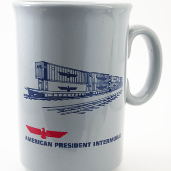 American President Intermodal Coffee Mug - Advertising