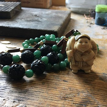 My Lucky Netsuke Charm - Asian