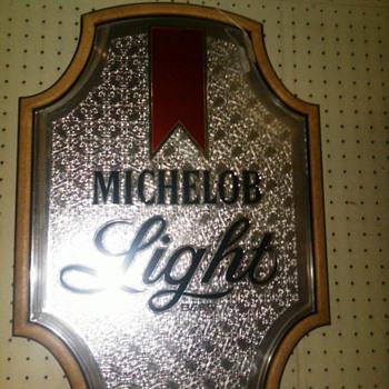 michelob light sign