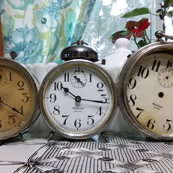 Thrift-Store Alarm Clocks - Clocks