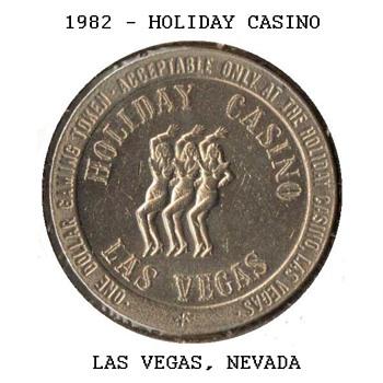 Holiday Casino - $1 Gaming Token - Games
