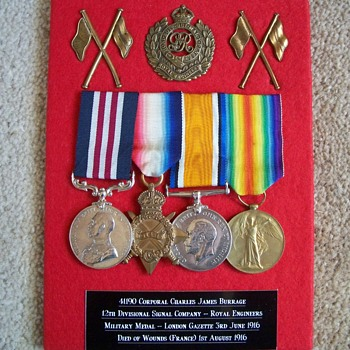 WW1 Military Medal Group - Military and Wartime
