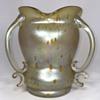 "Loetz ""Asträa"" 3 Handled Vase. 8"" Tall. Circa 1900"