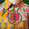 1960s Psychedelic Dress with Toby Tanner by Marjorie Lord label