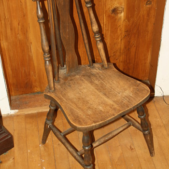 Brace-back chair - Furniture