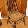 Brace-back chair