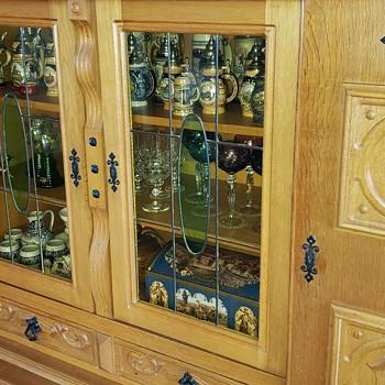 Antique German Cabinet - Furniture
