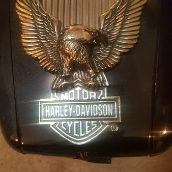 Harley-Davidson gas tank AM/ FM radio with working headlight - Radios
