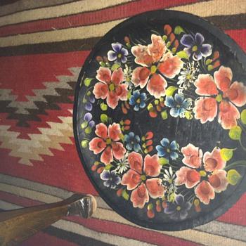 Batea mexican plate  - Folk Art
