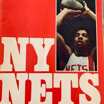 Last ABA Game Program - Basketball