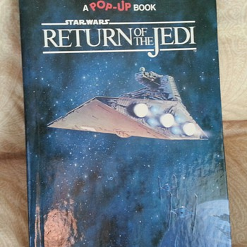 Random House 1983 Star Wars Return of the Jedi Pop Up Book