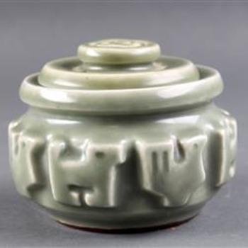 Jorgen Mogensen Celadon Box - Pottery