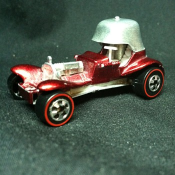 May have a rare Hot Wheel Item, 1970 Vintage Hot Wheel Red Baron Stamped - Model Cars