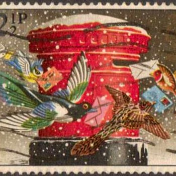 "1983 - Britain ""Christmas"" Postage Stamps - Stamps"