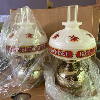 Budweiser innkeepers lamps - Lamps