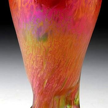 Rindskopf Grenada Vase - Art Glass