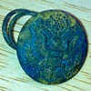 Military button found in Kentucky creek