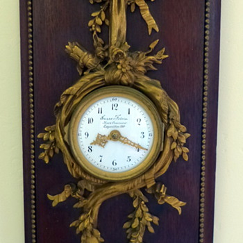 French Clock by Susse Freres - Clocks