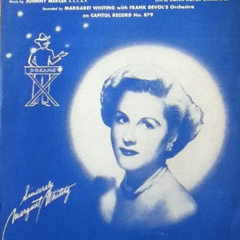 """Dream Peddler's Serenade"" Sheet Music - Paper"