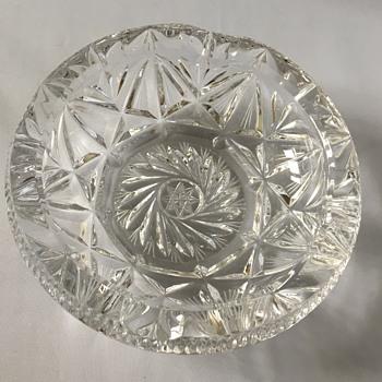 Glass ashtray  - Glassware