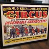 1930s Chevrolet circus poster