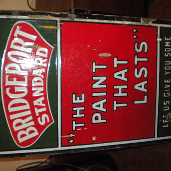 Brigdeport Standard Paint Sign - Signs